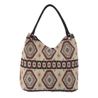 Túi xách thời trang thổ cẩm cao cấp Hoian Gifts HA-4F
