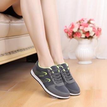 Giày Sneaker Nữ Thời Trang G2527 (Xám)