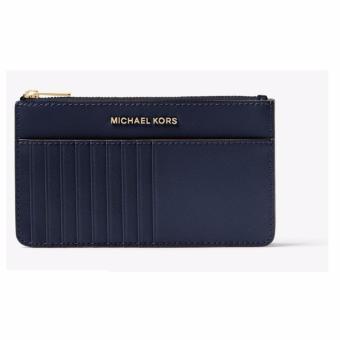 Ví đựng thẻ và điện thoại Michael Kors JET SET TRAVEL PATENT-LEATHER SMARTPHONE CARD POUCH (Admiral)