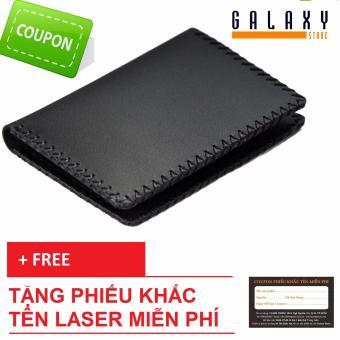 Ví Nam Bóp Nam Handmade Galaxy Store Gvm03 + Tặng Phiếu Khắc Tên Laser