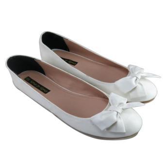 Giày búp bê Nóni tròn Dolly&Polly DL1043 (Trắng)