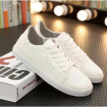 Giày Sneak Thời Trang Nam Sodoha TTN03828W - màu Trắng