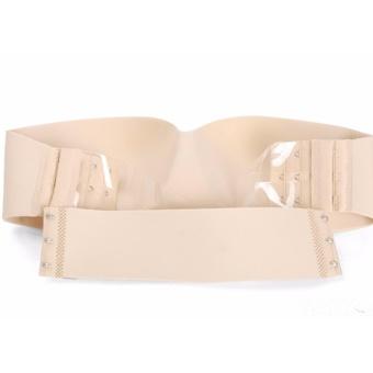 Bộ 2 áo ngực cúp ngang không dây lưng trong NNA25 (da)