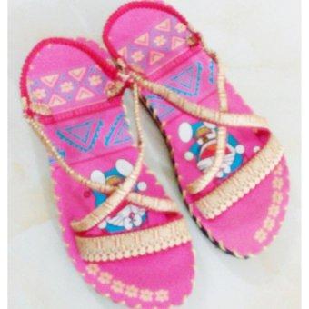 Sandal thổ cẩm baby (Hồng)TFB8532 #34