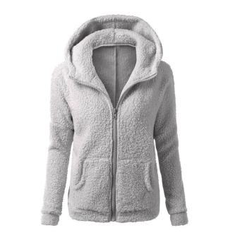 WomenThickFeece War Winter Coat Hooded Parka Overcoat Jackset Outwear