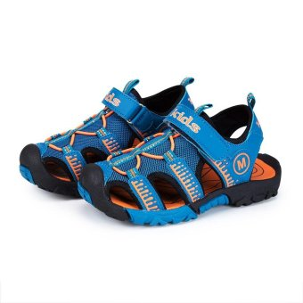 Summer Sandals Shoes 2017 Boys General Leather Children Shoes Boys Girls Sandals - intl