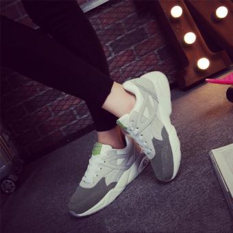 Giày nữ sneaker BGTX214 (XÁM)