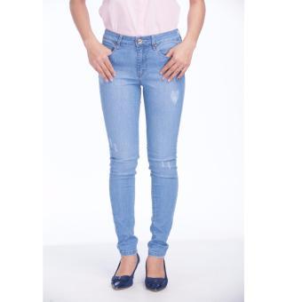 Quần jeans dài nữ THE BLUES WJ-0288