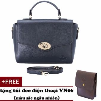 Túi đeo chéo nữ đa năng LATA HN35 (đen )+ Tặng ví vn06