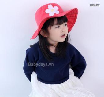Mũ nón rộng vành cho bé MXK052