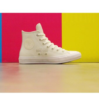 Giày Converse Chuck II Two-Tone Leather 154027 (Trắng)