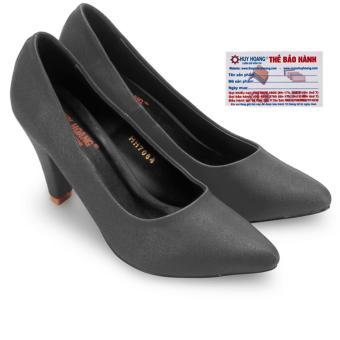 HL7082 - Giày nữ Huy Hoàng cao cấp đế 7 cm màu đen