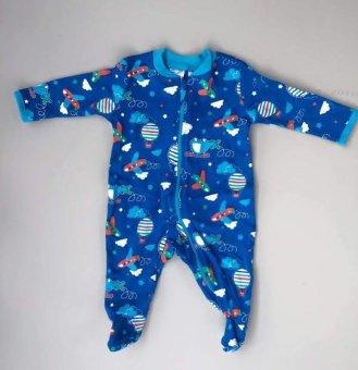 Body áo liền quần cho bé trai 4kg -BD03 xanh
