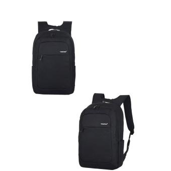 Women Men Fashion Travel Satchel School Bag Backpack Bag Laptop Bag BK - intl
