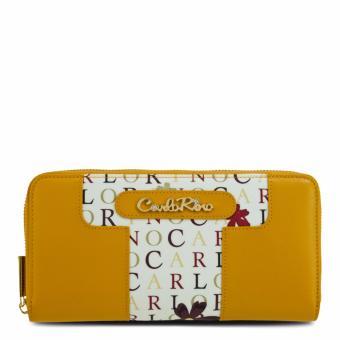 Ví nữ dây kéo Carlo Rimo 0303288-501-07 (màu vàng)