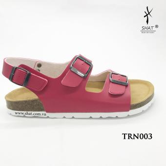 Giày SHAT đế trấu màu đỏ bản ngang