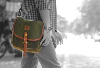 Túi đeo chéo Rock da Mood - Simple color 6261