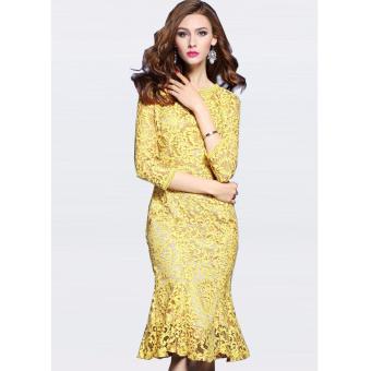 Đầm Đuôi Cá Nữ Thời Trang Naza A680018