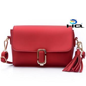 Túi Nữ Đeo Chéo Thời Trang Cao Cấp HQ 80TU83 1(đỏ)