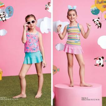 Bộ rời váy trẻ em Yingfa Y0316-1 (váy xanh)
