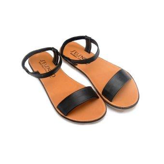 Giày xăng đan Lopez Cute D46 (Đen)