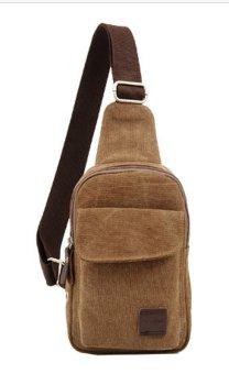 Túi đeo chéo dành cho nam thêm cá tính (Nâu đậm)