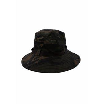 Mũ Tai Bèo Rằn Ri Vành Rộng Vừa Phải Salome Fashion