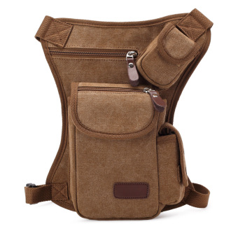 New Fashion Men Leg Bags(Brown) (Intl) - intl