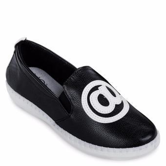 Giày lười thể thao nữ AZ79 WNTT0110011 (Đen)