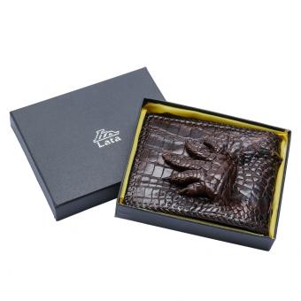 Ví da cá sấu LaTa LVN04 (Nâu)