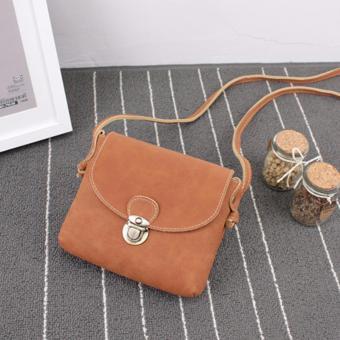 Túi xách đeo chéo mini BTS-Vendor1(nâu bò)