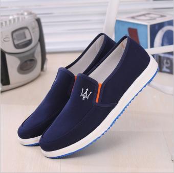 Giày vải chất liệu bền đẹp - gv02 ( Xanh đen ).