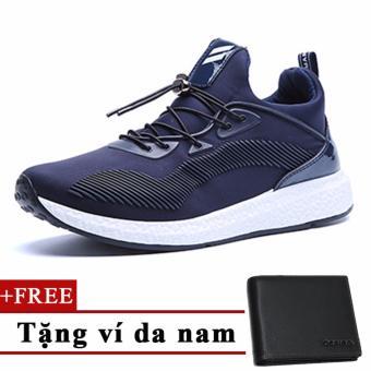 Giày sneaker nam+Tặng 1 ví da nam cao cấp 6701XH TINTO