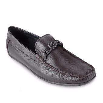 Giày tây nam SLEDGERS IMARE (SM62LF30L) (Nâu đậm)