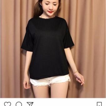 Áo thun đen cho nữ