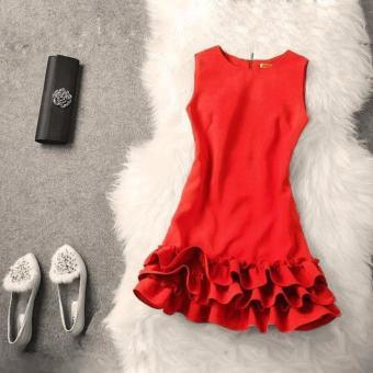 Đầm Xòe Chân Váy Ba Tầng