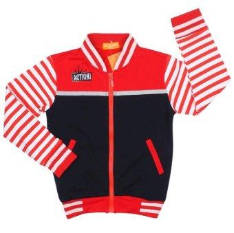 Áo khoác bé trai BT50730 (Đỏ xanh đen)