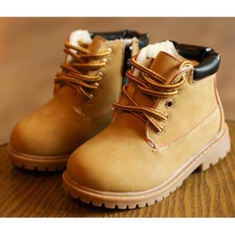 Giày bốt siêu nhẹ bé trai - GTE (Da bò)