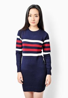 Váy len nữ Kẻ đôi H601