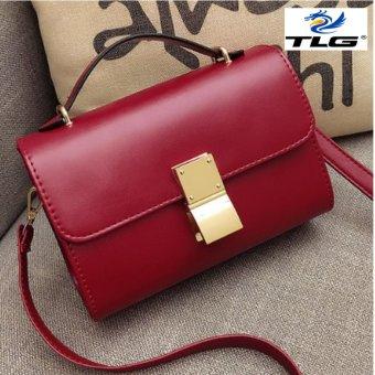 Túi nữ thời trang phong cách Hàn Quốc Đồ Da Thành Long TLG 208098 3(đỏ)