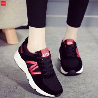 Giày Sneaker Thời Trang nữ Erosska - GN024 (Đen)