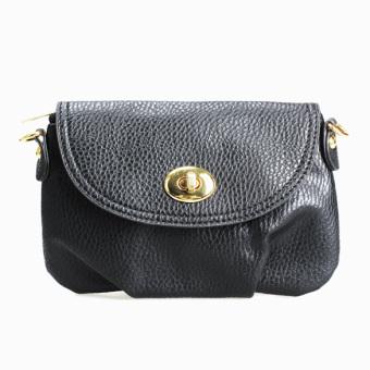 Women Mini Handbag Satchel Purse Totes Shoulder Bag (Black) - intl