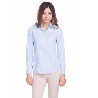 Áo nữ tay dài HK16-D-LS018S (Xanh)