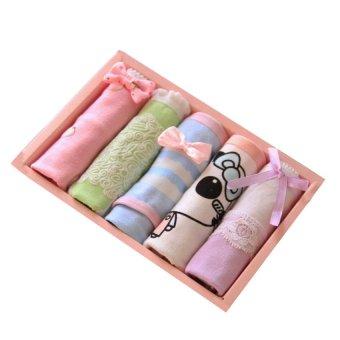 Bộ 5 quần lót cotton nữ Olivin LA208