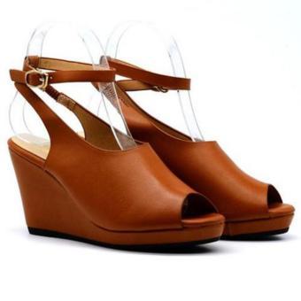 Giày sandal đế xuồng Eva4178 Nâu bò