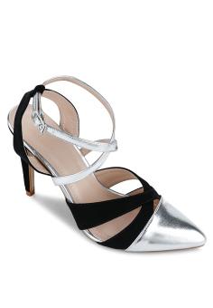 Giày cao gót Lozido L032 (Bạc)