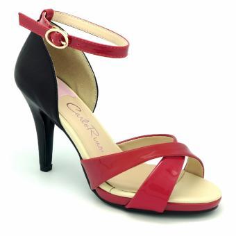 Sandal cao gót Carlo Rino 333040-085-04 (màu đỏ)
