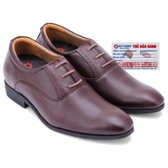 HL7178 - Giày tăng chiều cao Huy Hoàng màu nâu
