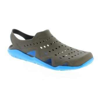 Xăng đan nam Crocs - 203963-08U - Swiftwater Wave Shoe M Gpt/Ocn (Xám)