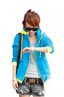 Áo khoác nữ Fashion Huy Kiệt AK01 (Xanh biển)